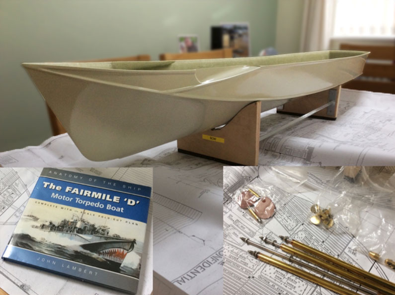 "Fairmile ""D"" Hull (from Pete Woodward)"