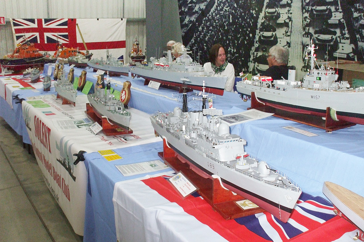 Warship & Lifeboat Display at TANKMOD 2017