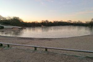 Pond Frozen over (12th Dec)
