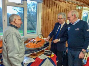 Lifeboat Display at Milford RNLI Branch AGM