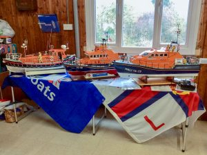Display of our Lifeboat models