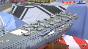 RC Boats and Ships at Bovington Tank Museum South West Model Show 2018