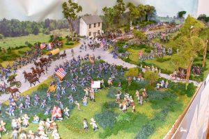American Civil war battle