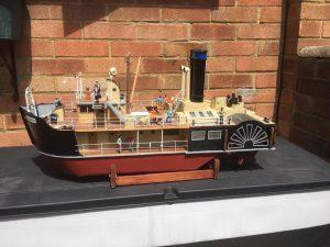 Lulonga Stern Paddle Ship