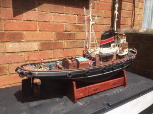 Tug registered London