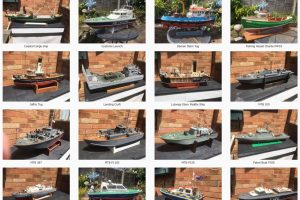 Retired Modeller: Boats for sale