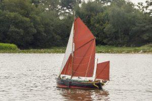 Peggy, sailing barge - Mike Beard