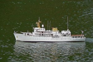 HMS Hecla Survey Vessel