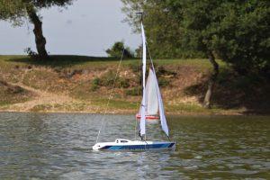 MicroMagic racing yacht