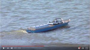 Don Brazier's Inboard motor speedboat