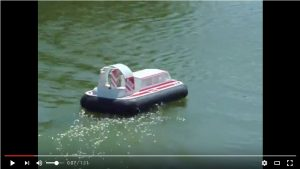 Fran Oakey's Griffin 600 Hovercraft