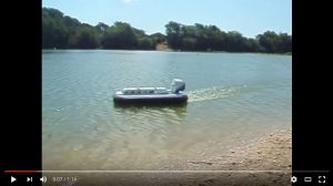 Fran Oakey's Griffin Hovercraft