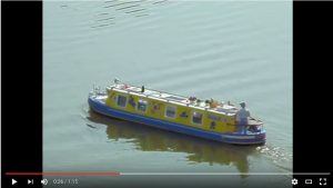 Peter Soffe's Canal Boat