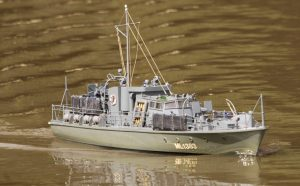 ML 1383, patrol boat - Andy Davis