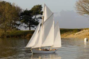 """Spirit, a """"Tinkagen"""" yacht"""
