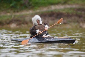 Inuit kayak - Brian Rapley