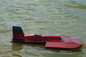 Shovel Nose Hydroplane; Model: Ray Hellicar; Photo © Alan Bond (2008)