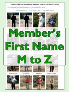 Click for names M to Z