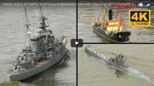 Super Scale RC Boats and Submarines