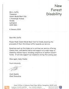 NFD Letter