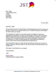 charity letter jst