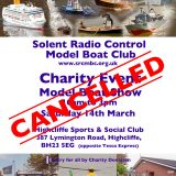 Charity Boat Show 2020 Cancelled