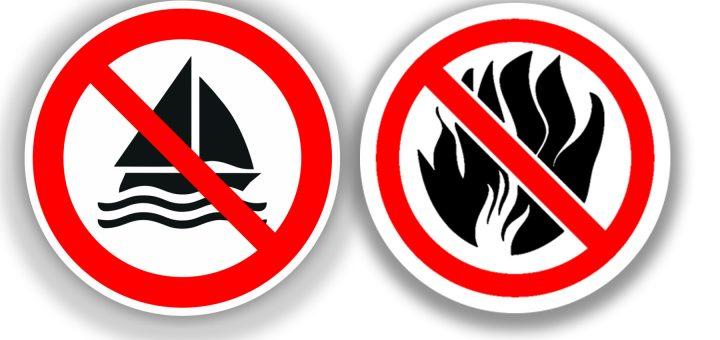 no sail no fires