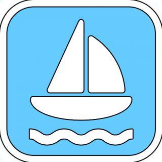 sailing boat sign