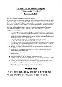 Scale Section Covid-19 Code of Conduct