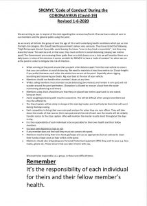 Sailing Section Covid-19 Code of Conduct